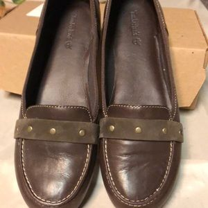 Flat  slip on shoes  Timberland  size 91/5w